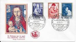 FDC Enveloppe 1961 (cachat Gent) - 1961-70