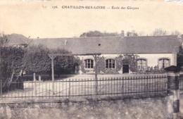 45 - Loiret - CHATILLON Sur LOIRE -  Ecole Des Garcons - Chatillon Sur Loire