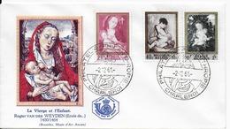 FDC Enveloppe 1961 (cachet Charleroi) Enveloppe Collée - 1961-70