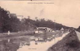 45 - Loiret - CHATILLON Sur LOIRE - Les Rabutteloirs- Peniche - Chatillon Sur Loire