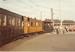 17 Juli 1985 Oostende Tramstation Speciale Stoomtramritten Foto (3337) - Tramways