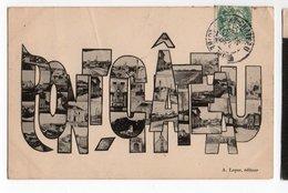 PONT-CHATEAU * LOIRE-ATLANTIQUE * MULTIVUES * LETTRAGE * éditeur A. LOYER - Pontchâteau