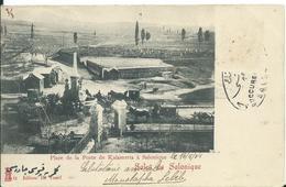 Salut De Salonique,Place De La Porte De Kalameria De Salonique 1904 - Greece