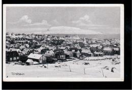 FAROE ISLANDS Torshavn Ca 1920 Old Postcard - Islas Feroe