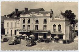 72*LA CHARTRE SUR LE LOIR-Publicite-Hotel De France - Francia