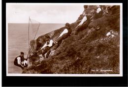FAROE ISLANDS Bjargamenn, H.N.Jacobsens No. 16 Ca 1935 Old Photo Postcard - Färöer