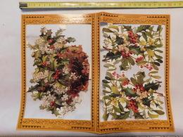 Decoupis Fleur Le Prix Pour 1 Feuille Boite N°33 - Flowers
