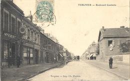 CPA Tergnier Boulevard Gambetta - Francia