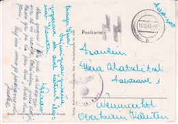 5059  AK--  NEUSTRELITZ   SS  1943  Nach    NEUMARKTL --TRZIC  SLOWENIEN - Neustrelitz