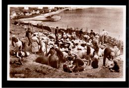FAROE ISLANDS Royting, H.N. Jacobsens  Ca 1935 Old Photo Postcard - Islas Feroe