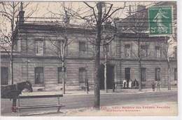 75 PARIS Rue Denfert Rochereau ,Hospice Des Enfants Assistés ,cheval Devant Le Banc - Distretto: 14