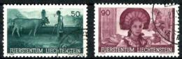 Liechtenstein Nº 170/71 Usado. Cat.34€ - Used Stamps