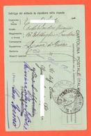 Finanza Da Brigadiere XVI° Battaglione Frontiera Zona Di Guerra 1916 X San Fermo Cartolina Postale Uso FRANCHIGIA - 1900-44 Victor Emmanuel III