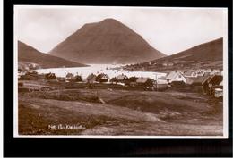 FAROE ISLANDS Klakksvik, H.N.Jacobsens No 11 Ca 1935 Old Photo Postcard - Islas Feroe