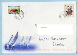 Chine, Entier Postal + Complément Voyagé Pour La France Voir Scan - 1949 - ... République Populaire