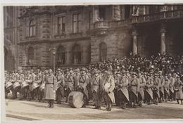 Musique Du 8eme De Ligne  ( Allemagne Années 30 )  ( Texte Au Verso ) Carte Photo - Regiments