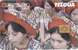 GUATEMALA - Santiago Atitlan, Telgua-0015B, Used - Guatemala