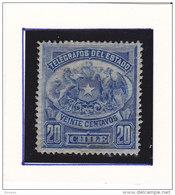 CHILI 1883 TELEGRAPHE  Yvert 3 NEUF** MNH  Cote : 12.50 Euros - Cile