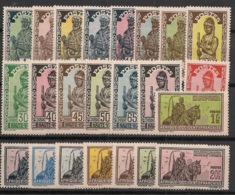 Haute-Volta - 1928 - N°Yv. 43 à 65 - Série Complète - Neuf Luxe ** / MNH / Postfrisch - Neufs