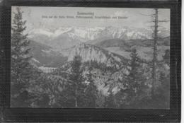 AK 0392  Semmering - Kalte Rinne , Polleroswand , Krauselklause Und Raxalpe / Verlag Frank Um 1912 - Semmering