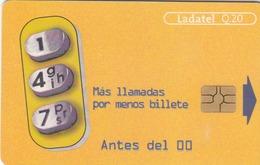 GUATEMALA - 147 Mas Llamadas Por Menos Billetes, Telgua-0082, Gemplus - GEM5 (Red), Used - Guatemala