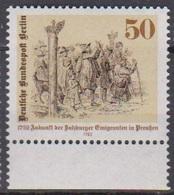 Berlin 1982 Mi-Nr.667 ** Postfr. Aufnahme Salzburger Emigranten In Preußen Vor 250Jahren( B 2401 )günstige Versandkosten - Ongebruikt