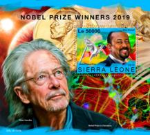 Sierra Leone 2019 Nobel Prize Winners Peace Literature S/S SRL191103b - Célébrités