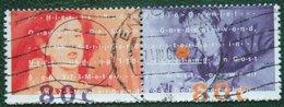 Radio Oranje WWII Rundfunk NVPH 1561-1562 (Mi 1477-1478) 1993 Gestempeld / USED NEDERLAND / NIEDERLANDE - 1980-... (Beatrix)