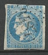FRANCE N° 45  Oblitere -1870 Voir Scan - 1870 Bordeaux Printing