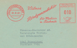 Wilhelm Conrad Röntgen-Strahlen Diagnostik - 22a Düsseldorf Wilnos Zubehör Medizin Technik - Medizin