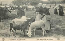 63 , Marchande De Moutons , Foire , * CF 388 23 - Autres Communes