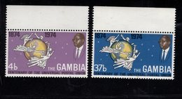 900904033 1974 UPU - GAMBIA SCOTT 304 305 POSTFRIS MINT NEVER HINGED EINWANDFREI (XX) - Timbres