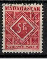 MADAGASCAR           N°  YVERT   TAXE 38   OBLITERE       ( Ob   1/38 ) - Madagascar (1889-1960)