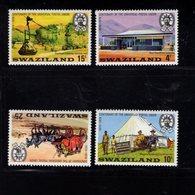 900905314 1974 UPU - SWAZILAND SCOTT 214 215 216 217 POSTFRIS MINT NEVER HINGED EINWANDFREI (XX) - Timbres
