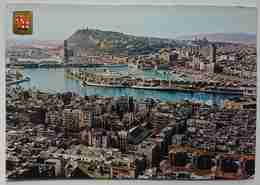 BARCELONA - Puerto. Vista Aerea - Vg S2 - Barcelona