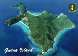 1 AK BVI British Virgin Islands - Blick Auf Guana Island * Eine Privatinsel Der Britischen Jungferninseln In Der Karibik - Vierges (Iles), Britann.