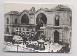PARIS - 2 Octobre 1895 - ACCIDENT DE TRAIN - Gare Montparnasse - Train Venant De Granville - Animée - Katastrophen
