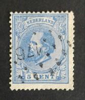 Nederland/Netherlands - Nr. 19G Met Puntstempel 176 - 1852-1890 (Wilhelm III.)