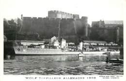 WOLF , 1938 , Torpilleur Allemagne , Photo Marius Bar A Toulon , * 393 05 - Guerre
