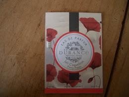 Pochette Durance Joli Coquelicot - Cartes Parfumées