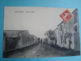 17 - PUIVINEUX - Rue Principale - 1912 - Francia
