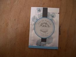 Pochette Durance Coton Musc - Cartes Parfumées