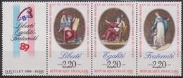 Bicentenaire De La Révolution Française - FRANCE - Liberté, Egalité, Fraternité - N° 2576 ** - 1989 - Nuevos