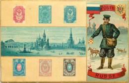 RUSSIE , Poste Russe Facteur , Langage Du Timbre , * 393 82 - Russia