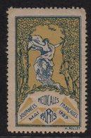 Journees Medicales Francaises - Mai 1929 - Paris - Neuf Sans Charniere ** - Commemorative Labels