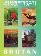 Oiseaux - Birds -Vogels 1969 - Bhoutan