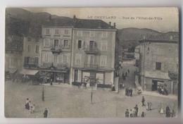 LE CHEYLARD (07 - Ardèche) - Rue De L' Hotel De Ville - Animée - Le Cheylard