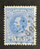 Nederland/Netherlands - Nr. 19G Met Puntstempel 169 - 1852-1890 (Wilhelm III.)