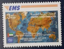 UAE ARAB EMIRATES 2019 - EMS EXPRESS MAIL SERVICE - UPU JOINT ISSUE COMMON DESIGN EMISSION COMMUNE - MNH - Emissions Communes