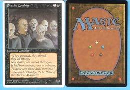 Scathe Zombies-Summon Zombies-Magic The Gathering (MTG)--Illus.Jesper Myrfors-1996-English - Cartes Noires